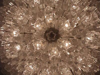 Photograph - Glass Flower by Anna Villarreal Garbis