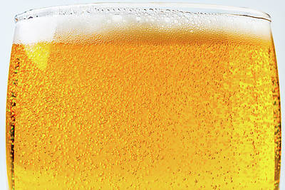 Alcoholic Beverages Photograph - Glass Of Beer by Garry Gay