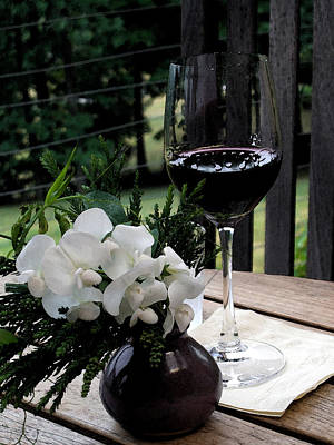 Spacious New Home Digital Art - Glass Of Wine by Don  Wright