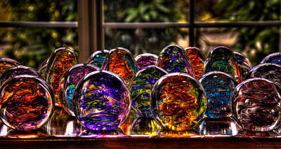 Abstractions Photograph - Glass Symphony by David Patterson