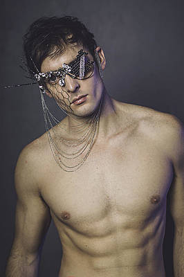 Glasses Of Fashion Print by Adam LeCroy