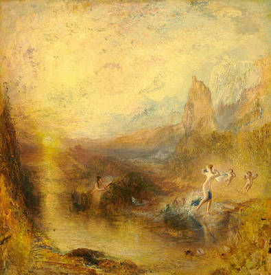 Greek Mythology Painting - Glaucus And Scylla  by Joseph Mallord William Turner
