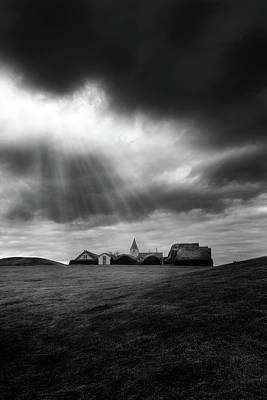 Museum Photograph - Glaumbaer by Tor-Ivar Naess