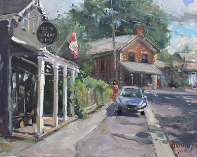 Glen Painting - Glen Williams Ontario by Ylli Haruni