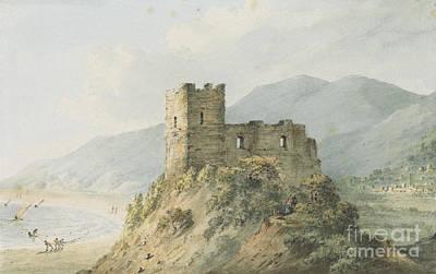 Glensanda Castle Loch Linnhe Print by John Warwick