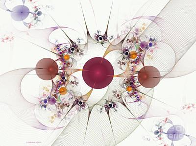 Apophysis Mixed Media - Globes Of Many by Deborah Benoit