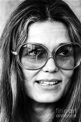 Gloria Photograph - Gloria Steinem (1934-) by Granger