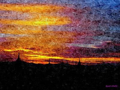 Glorious Bagan Evenings Original by Tilaka-siri Dharmakirti