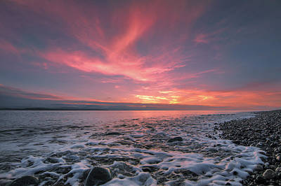 Juan De Fuca Photograph - Glorious Sky by Ryan McGinnis