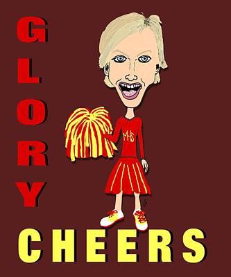 Glory Cheers Print by Pharris Art