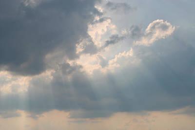 Sun Rays Digital Art - Glory Of The Heavens by Linda Phelps
