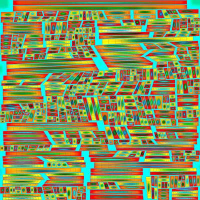 Digital Art - Glow Master Abstract by Mario Carini