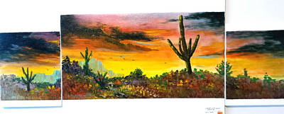 Glowing Desert #2 Print by Bryan Benson