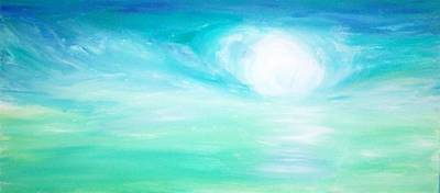 Painting - Glowing by Mary Sedici