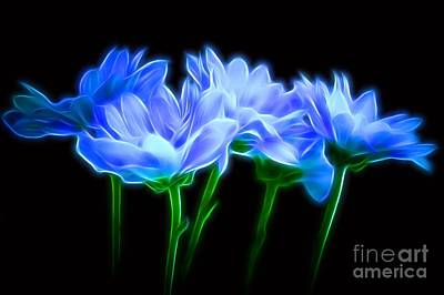 Glowing With Love Print by Krissy Katsimbras