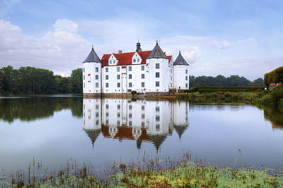 Gluecksburg Castle - Germany Print by Joana Kruse