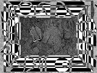 Licorice Digital Art - Gnidnereven by Douglas Christian Larsen