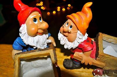 Gnome Friends Print by Brynn Ditsche