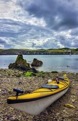 Oars Digital Art - Go Kayaking by Ian Mitchell