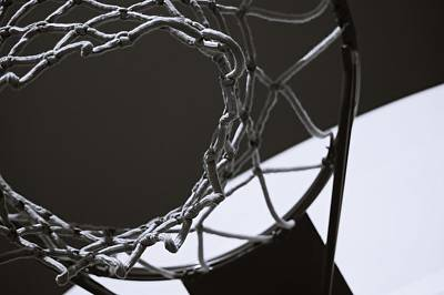 Basketball Abstract Photograph - Goal by Steven Milner