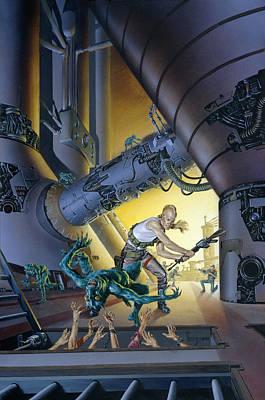Prison Painting - Goblin Market by Richard Hescox