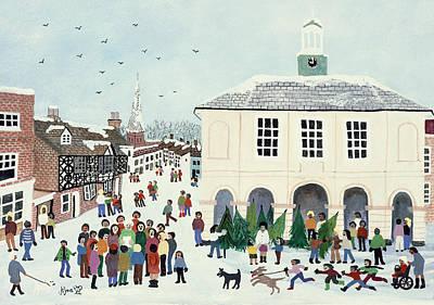 Godalming    Surrey Print by Judy Joel
