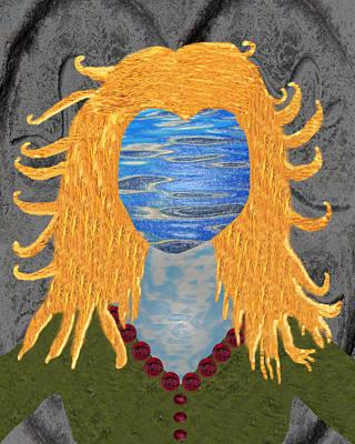 Goddess Digital Art Mixed Media - Goddess Brighid by EnDora TwinkLens