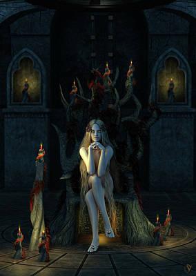 Throne Room Digital Art - Godiva's Throne by Jestephotography Ltd