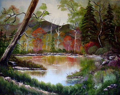 All Around Us Painting - God's Goodness by Bobbie Roberts