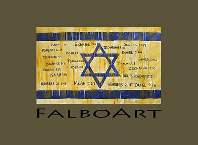 Promise Painting - Gods Love For Israil by Anthony Falbo