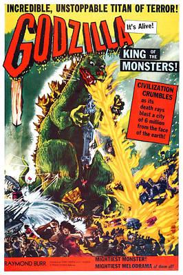 Godzilla, King Of The Monsters, Aka Print by Everett