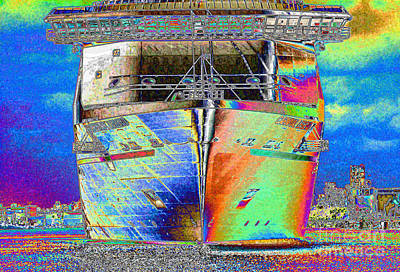 Travelling Art Digital Art - Going Cruising by Carol Groenen