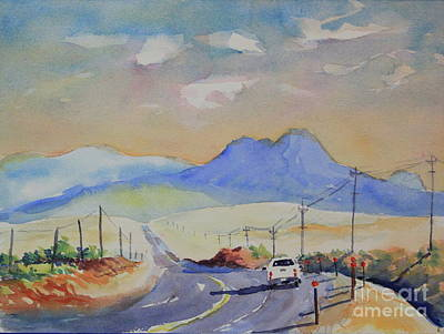 Going To Alpine Print by Marsha Reeves