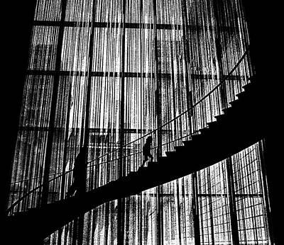 Going Up Print by Dennis Sullivan