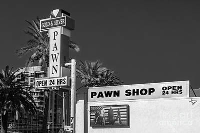 Freemont Photograph - Gold And Silver Pawn Shop by Anthony Sacco