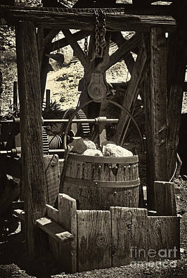 Old West Photograph - Gold Bucket by Paul W Faust -  Impressions of Light