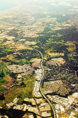 Birdseye Photograph - Gold Coast Aerial Photograph by Jorgo Photography - Wall Art Gallery