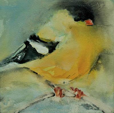 Gold Finch Original by Jani Freimann