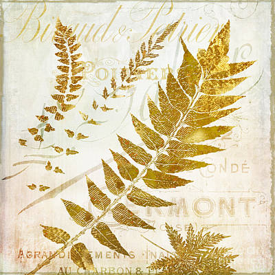 Ferns Painting - Golda I by Mindy Sommers