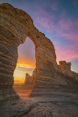 Golden Arch Of Kansas Print by Darren White