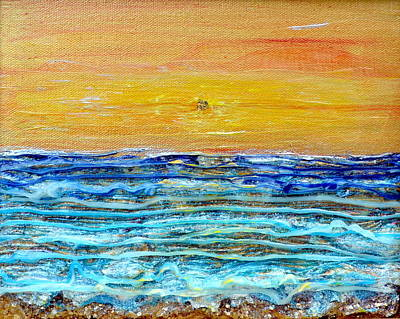 Golden Dawn Original by Regina Valluzzi