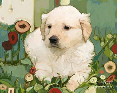 Blondie Digital Art - Golden Day by Carrie Joy Byrnes