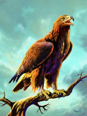 Golden Eagle Original by Anthony Mwangi