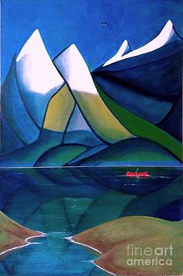 Painting - Golden Ears by John Lyes