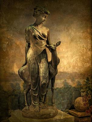 Golden Lady Print by Jessica Jenney