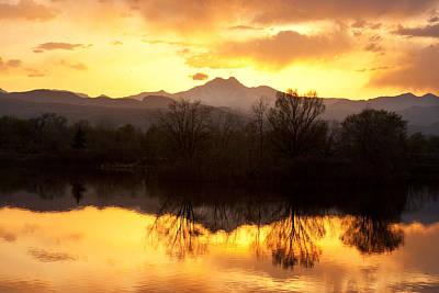 Golden Ponds Longmont Colorado Print by James BO  Insogna