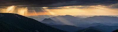 Balkan Mountains Photograph - Golden Rain by Evgeni Dinev