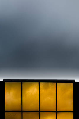 Golden Windows Print by Bob Orsillo