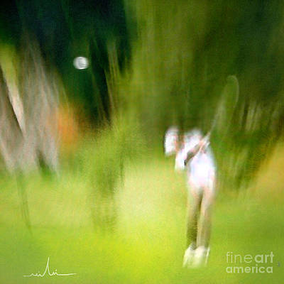 Golf Mixed Media - Golf At The Blue Monster In Doral Florida 01 by Miki De Goodaboom