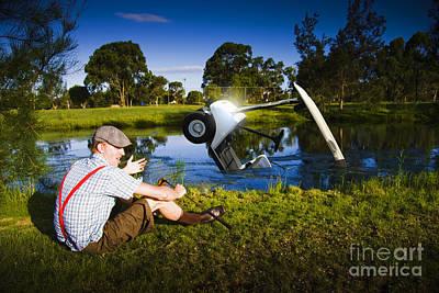 Golf Problem Print by Jorgo Photography - Wall Art Gallery